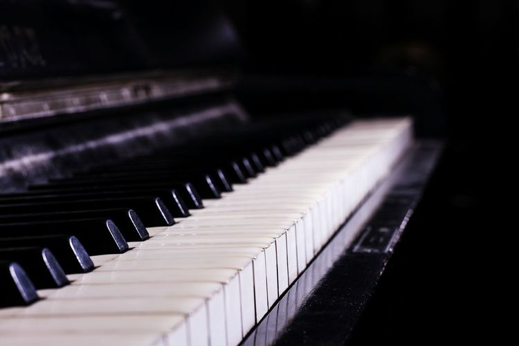 A nice piece of Music - Keyboard Piano Keys Piano Keyboard  Eyem Best Shots Musik Klavier Open Edit Vintage Musical Instruments
