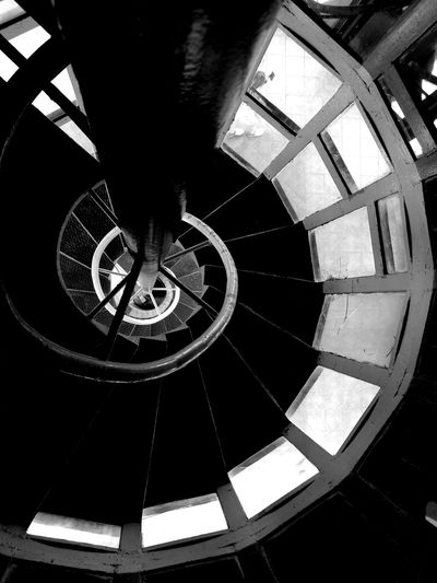 infinite possibilities Minimalism Minimalobsession Blackandwhite Bnw Bnw_collection High Contrast Bnw Curves And Lines Shadows & Lights Spiral Spiral Out Fortysixandtwo Infinity Spiral Staircase Steps And Staircases Staircase Steps Architecture Instrument Of Time