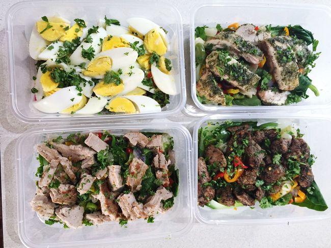 Food Prep Gym Life