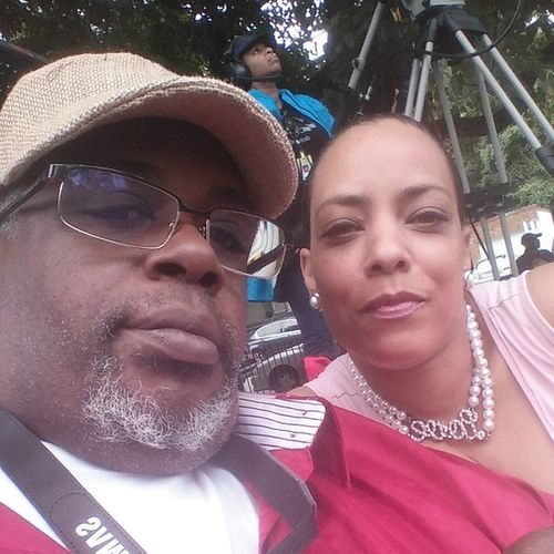 Me and my baby loving all this good music. Dctvfestival Dctv