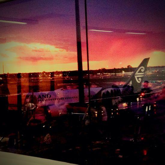 Last Australian sunset ❤️?