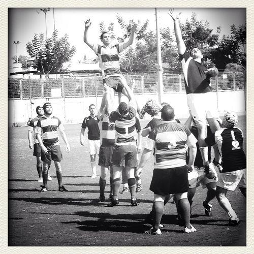 Ra'anana Vs Israel Watching The Rugby Blackandwhite Israelinstagram Eyeem Israel