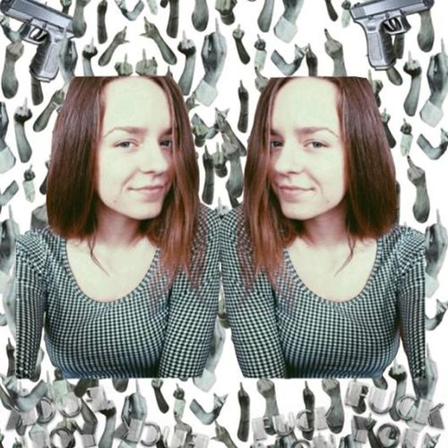 Cybrfm Girl Black & White