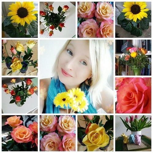 Der Bestermannderwelt überrascht mich immer wieder mit Blumen Glücklich Augustaugenblicke mafflumomente