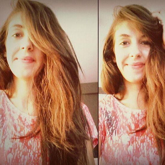 Smile Happy Beatifull Saçlarımi cok seviyorum :D ♡