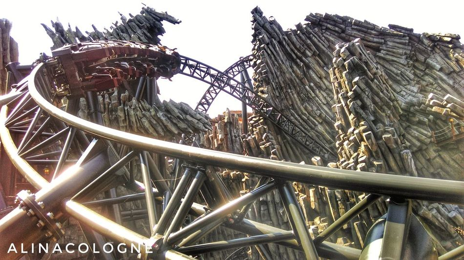 Only 55 days left....😍❤🎢☝😇😊...follow me on Instagram @alinacologne😉 No People Outdoors Day Sky Klugheim Photography Phantasialand Brühl Rollercoaster Skyporn Freizeitpark Secondhome Köln, Germany ınstagram Phantasialand Taron