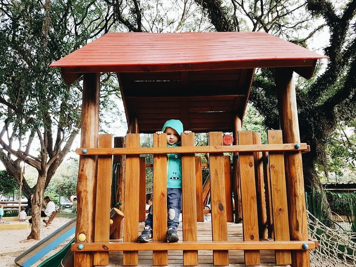 Kid, Park, Sao Paulo, Brazil, Wodden Toy, Wood - Material Day Outdoors Sky First Eyeem Photo