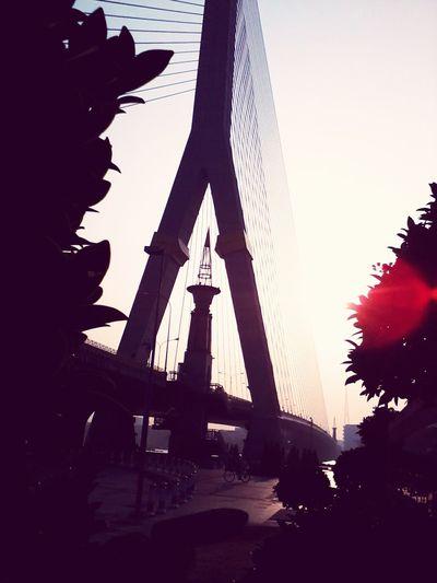 Hello World Walking Around 'enjoy The Sun Bangkok,Thailand(Siam)