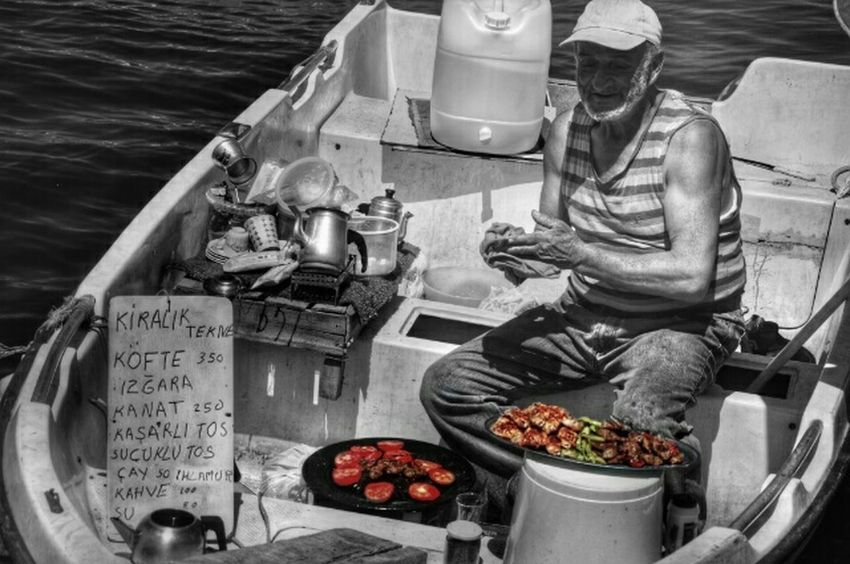Picturing Individuality Oldman Memories Coooking on a Boat The Week On EyeEm - Galata Istanbul