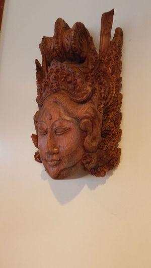 Bali God Close-up Day History No People Religion Spirituality Studio Shot