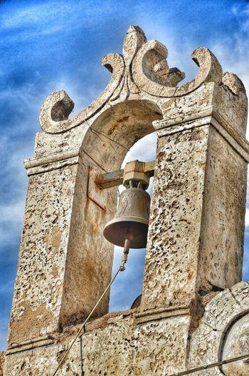 Religion History Architecture Built Structure Spirituality Sculpture Building Exterior Sky Outdoors Sardinia Sardegna Autunno In Barbagia Cortes Apertas Oliena Church Campanile Campana