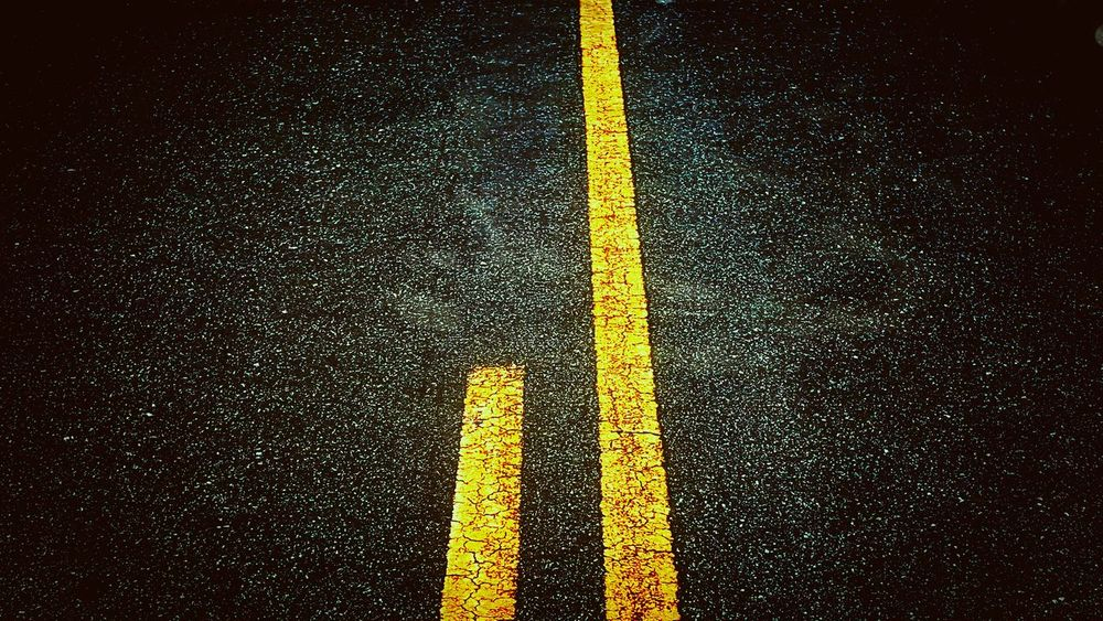 Yellow Road Marking Asphalt Full Frame Road No People Day Textured  Outdoors LINE Close-up Penderlea Scenics Abstract RuralTreasures  Tranquility Diminishing Perspective Highwayphotography Highwayscape Highway Driving Paint The Town Yellow