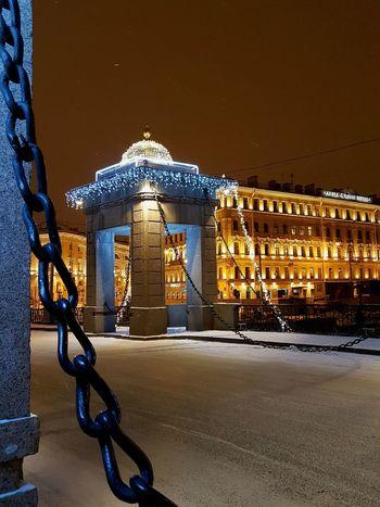 Winter Saint Petersburg No People
