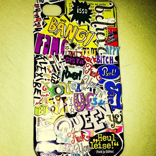 Newcase  IPhone4s Comic Style Loveit♡
