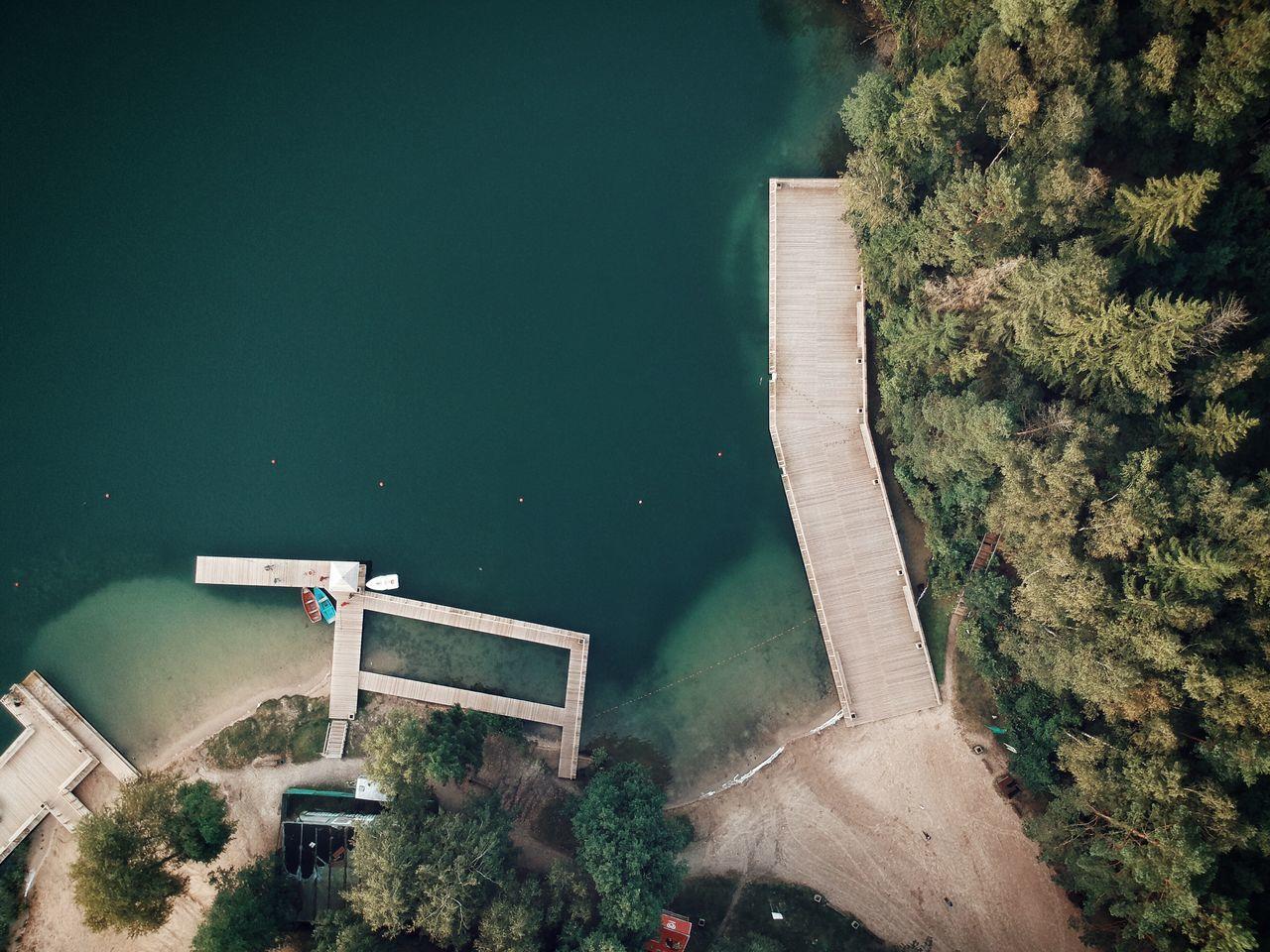 Aerial View Of Lakeshore