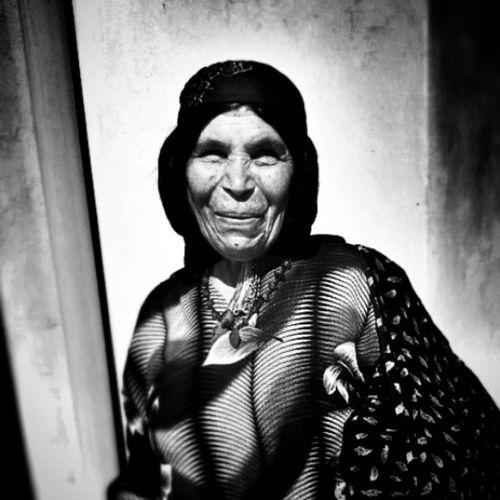 Oldwoman Villager Qashqai Tribe