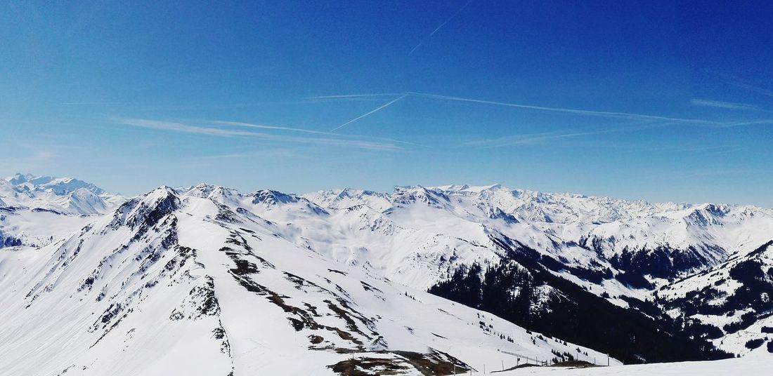 The Great Outdoors - 2017 EyeEm Awards Cold Temperature Cold Alpen Alps Sky Nature Winter Landscape Snow Mountain Frozen Skiing Saalbach Hinterglemm