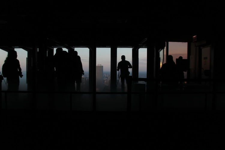 Interior silhouettes Chicago Silhouette Real People Group Of People Men Indoors  Architecture People Dark Women Walking Adult Lifestyles Copy Space Incidental People Travel Built Structure Standing Reflection Waiting City Life Architecture darkness and light Dark Interior Urban