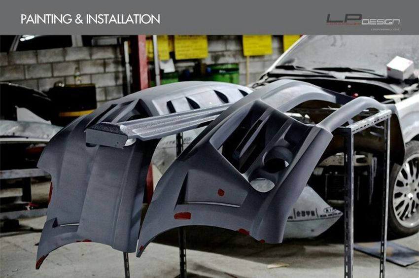나만의 차를 완성하는 곳_로드파워디자인 LORDPOWER DESIGN MARQUIS-25T Kia Sorento Kia Sorento Full Body Kit Aeroparts Front Bumper Rear Bumper