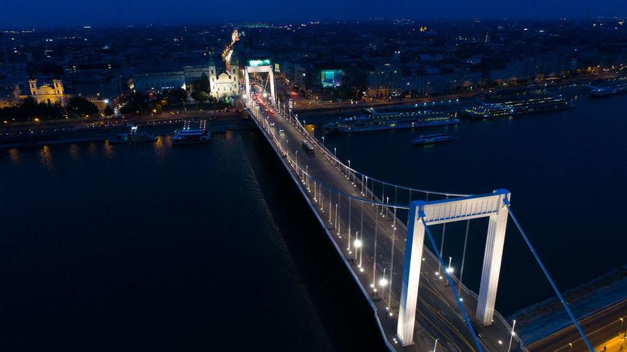 Budapest danube bridge