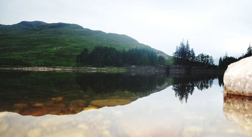 Trossachs National Park Highlands Trossachs Scotland Day Sky Mountain Peak No People Beauty In Nature Nature Outdoors Standing Water Scenics Landscape Lake Loch Arklet Reflection Water Mountain Nature Beauty In Nature Tree