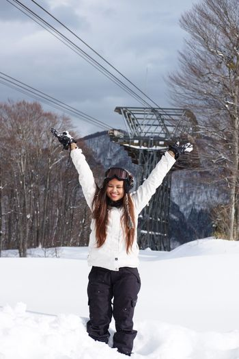 Snow Sports Finding New Frontiers First Eyeem Photo Young Women Sport Day Adventure Weekend Activities Outdoors Standing Young Adult Winter Sport Lifestyles Leisure Activity Travel Protrait Winter Snow Nature Smiling Happiness
