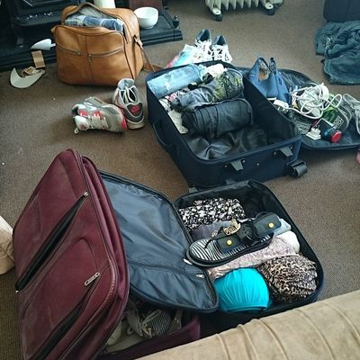 Ahhh help Packing Stressed Holidays