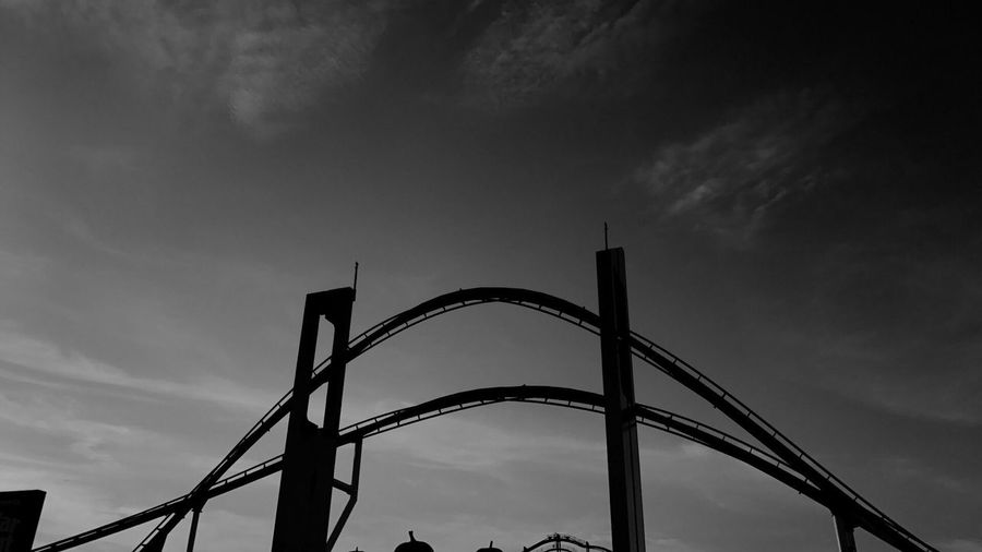 Cedar Point Sky Low Angle View Cloud - Sky Outdoors No People Day Nature Architecture Roller Coaster Ohio Cedar Point