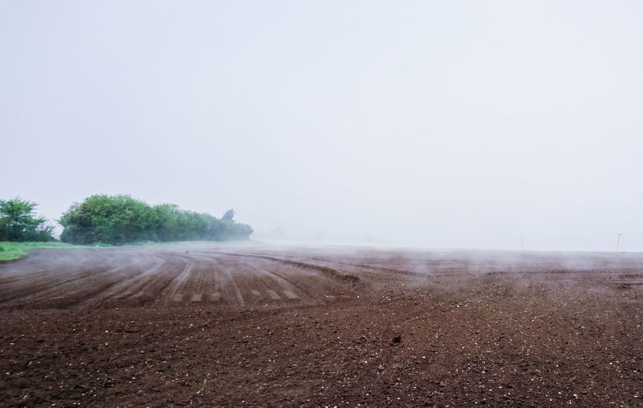 No People Outdoors Landscape Nature Sky Day Foggy Morning Misty Morning Premium Collection