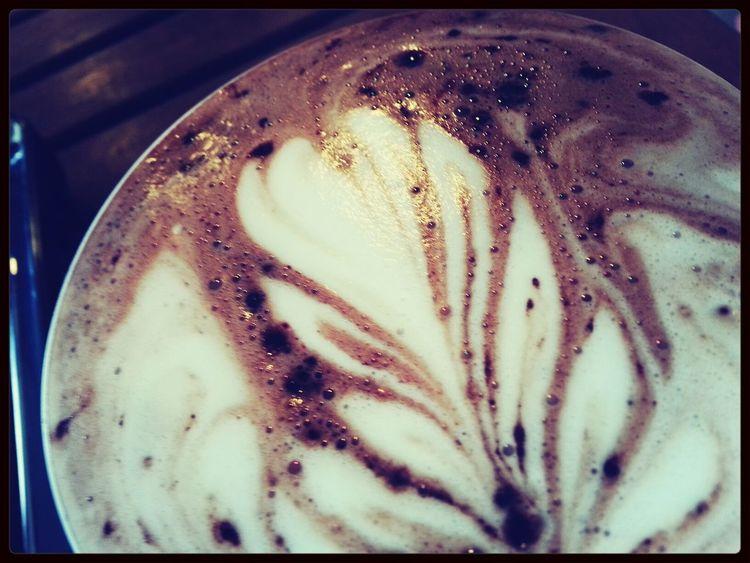 Hot chocolate ♡ Chocolove Hotchoco Latte Art Urbanstation