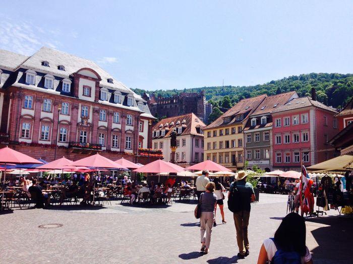 Touristen zu Besuch Heidelberg The Architect - 2015 EyeEm Awards Thankyou Summerfeelings