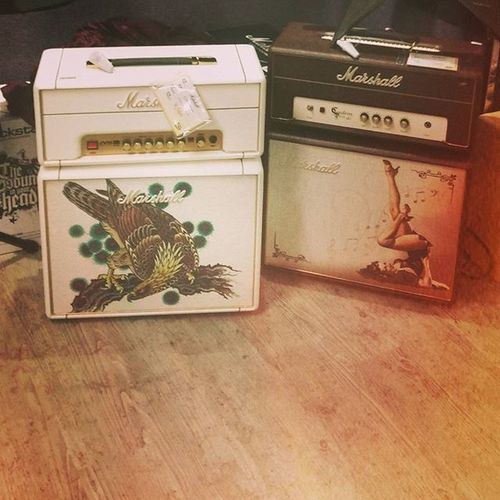 Also THESE Marshall Amps MarshallAmps Paul can fill the new apartment with as many of these as he wants Instruments Music Sexymusic Stylish Betterthanabigblackamp Tomleemusic Pinup Bird Oldschool Tattoostyle