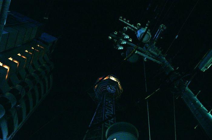 通天閣 大阪 新世界 日本 Tsutenkaku Shinsekai Osaka,Japan Nightphotography Dynax 5D