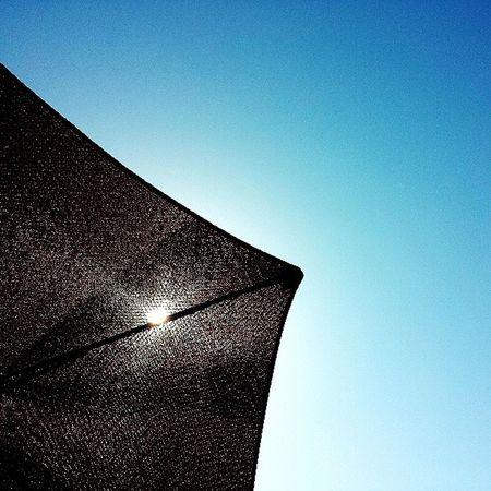 Northwest Summer Sun Umbrella on the Patio Breaktime Grill Brats