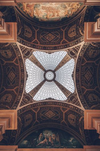 EyeEm Selects Ceiling Architecture Built Structure Indoors  Pattern Design Travel Destinations Architectural Feature Architecture And Art