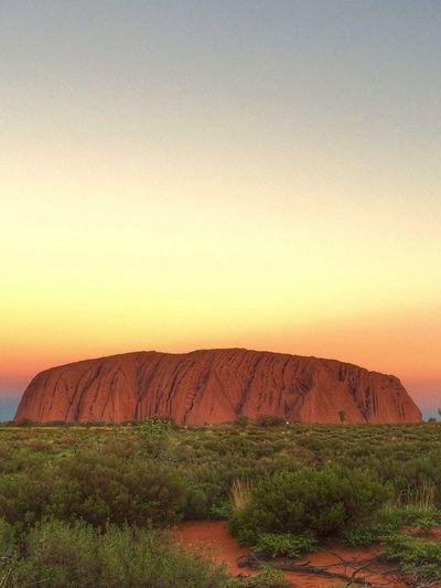 My Year My View Sunset Australian Desert Red Rocks  Beautiful Nature Beautiful Day
