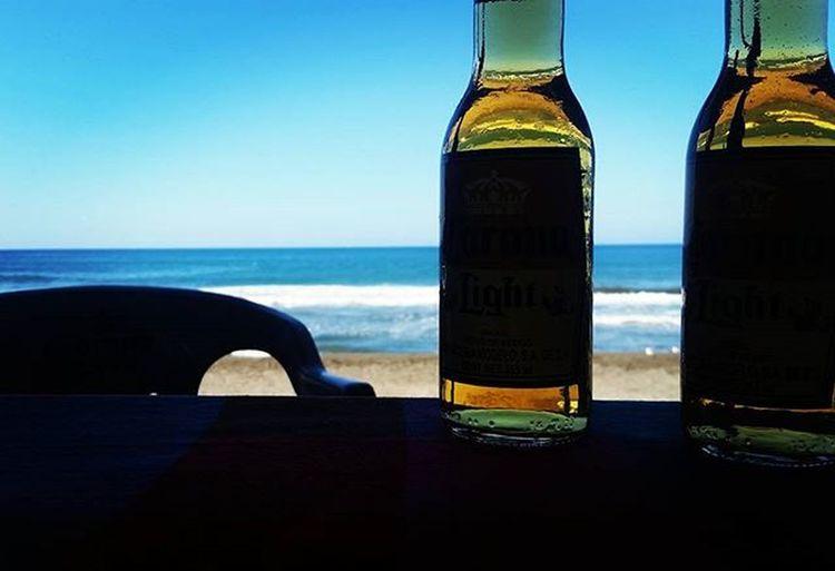 🌊🌞🌴🍻 Warm Day Sunny Day Mexico_maravilloso Coronabeer Beach Photography San Telmo Michoacan