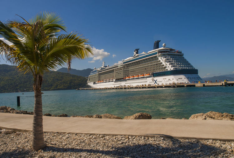 Labadee is a port located on the northern coast of Haiti. It is a private resort leased to Royal Caribbean Cruises Ltd. until 2050 Cruise Cruise Ship Haiti Port Labedee Resort Tourism Vivid International Zipline Adventure