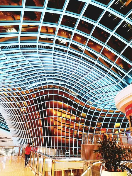 Glass Building Reflection Melbournephotos Melbourne City Chadstone Shopping Centre Architecture Indoors  Flowing Night Shot Interior Design