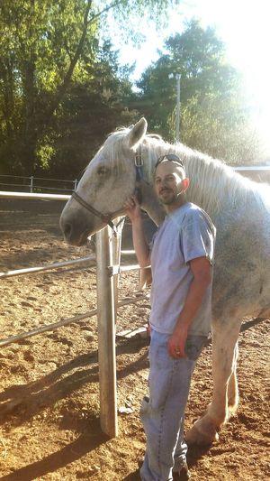 Horseback riding w the family!