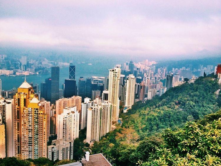 Victoria Peak HongKong Hong Kong Гонконг