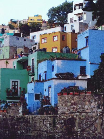 Guanajuato, México Guanuajuato Mexico Colors Buildings Traveling Travel City Streetphotography