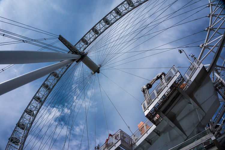 London LondonEye Architecture Building Exterior Built Structure City Cloud - Sky Day Low Angle View Nature Nautical Vessel No People Outdoors Sky EyeEm LOST IN London