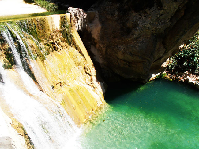 Canon Del Rio Vero Adventure Beauty In Nature Hidden Paradise Purity Roadtrip Waterfall Wild River