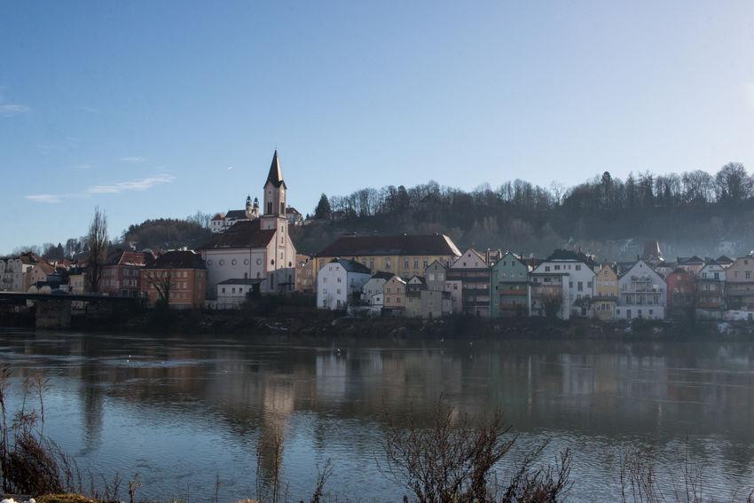Architecture Bavaria Church Dezember Passau Silvester Winter Cold No People