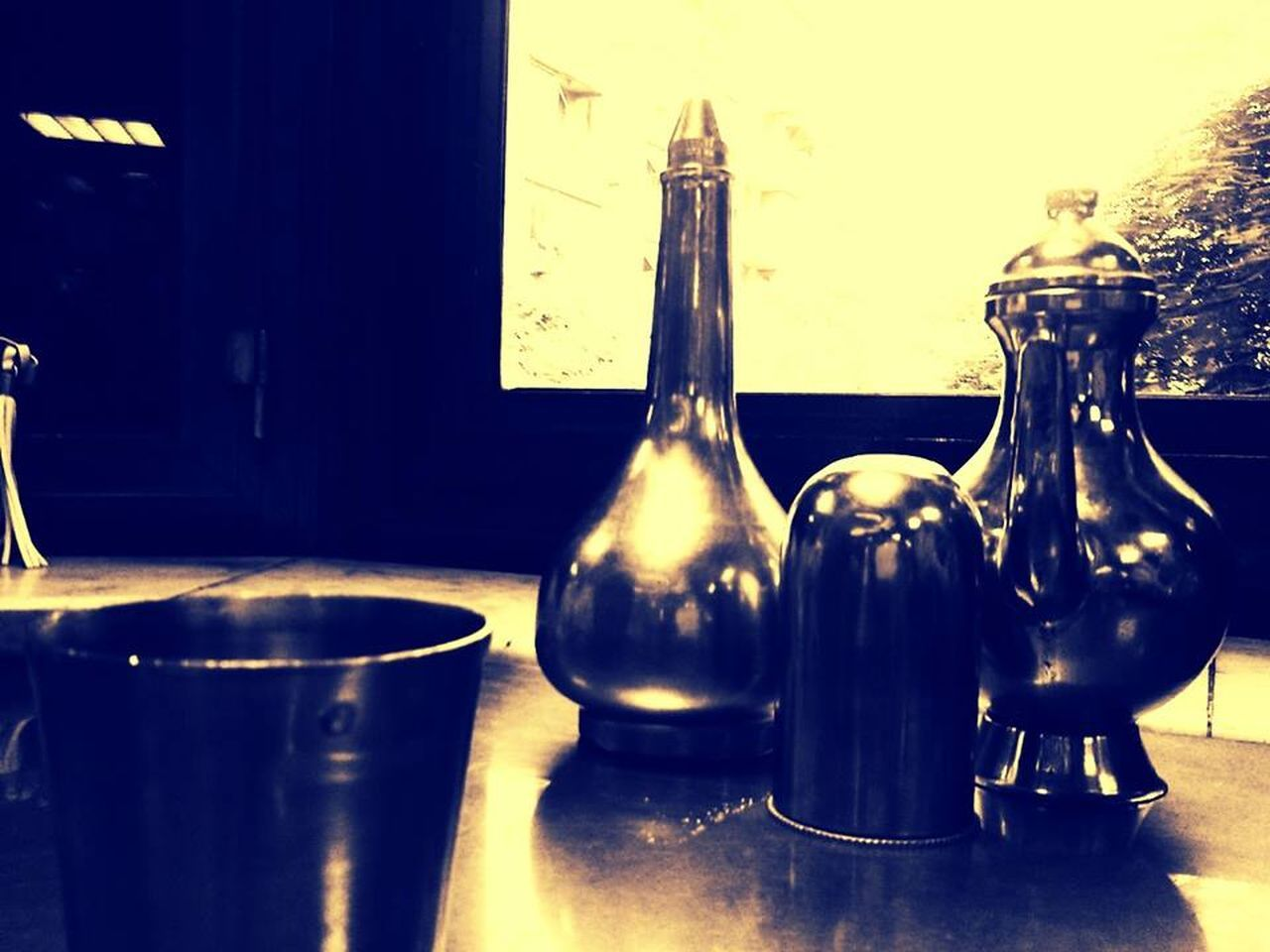 bottle, food and drink, indoors, no people, table, food, close-up, day, freshness