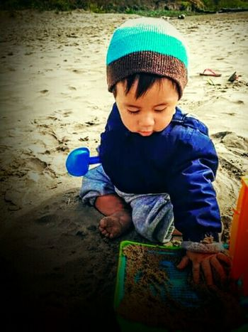 Beachbaby Sandcastles Sandy Beach Sand Lincoln City Oregon Oregon Coast Waves Grandsonlove Unconditional Love Sweetheart♡♥ Taking Photos Enjoying Life ' Timeflies 1yearago Imagine Pretend Sandcastle Building Play Inspire Beautiful ♥ Bright Colors Tyler Torn