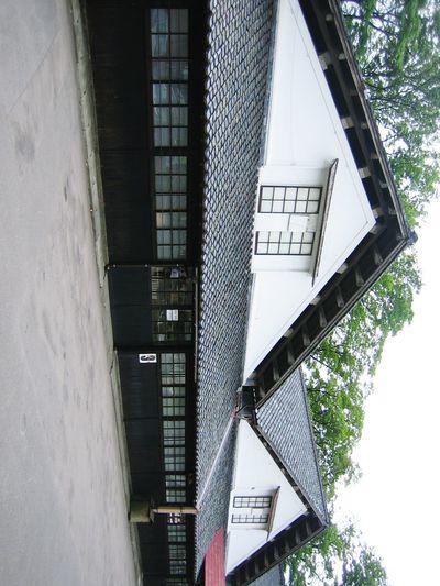 【Yamagata,Japan】sankyo soko 山居倉庫 Old Buildings Japan July Rice Warehouse Tohoku Shounai Sankyo Soko SAKATA Architecture Building Exterior Built Structure
