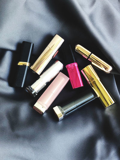 Lipstick on