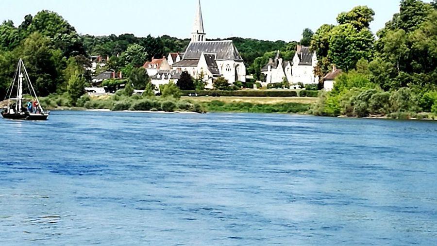 Gabarre sur la Loire